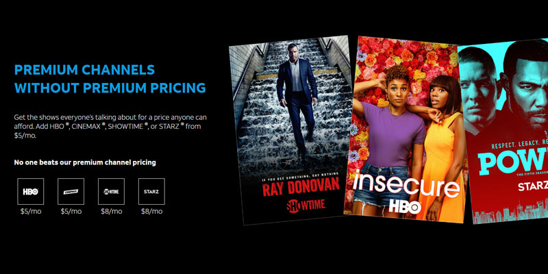DirecTV Now - Packages, Channels, Pricing 2019 (Everything