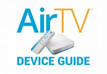 AirTV device guide