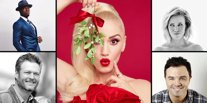 Gwen Stefani Dishes On Performing With Blake Shelton For Her Christmas Special