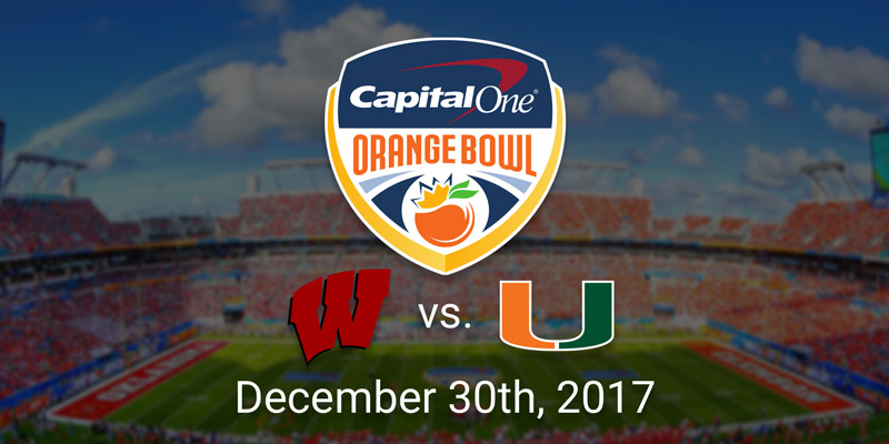Orange Bowl: Wisconsin Badgers vs. Miami Hurricanes