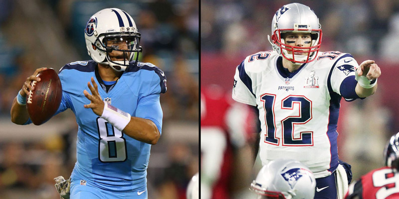 Marcus Mariota 'Embarrassed' by Titans Loss to Patriots