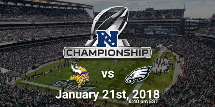 Image result for vikings eagles nfc championship
