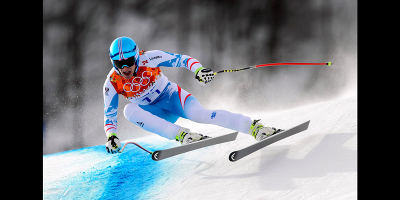 Olympic men's downhill postponed due to wind
