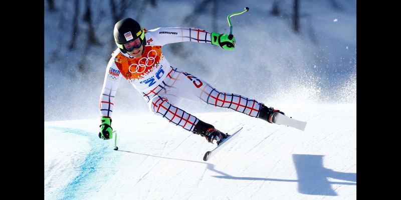 (Olympics) Men's downhill event rescheduled due to strong wind