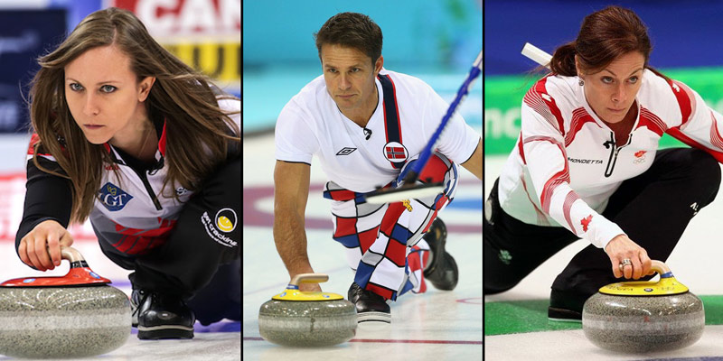 Watch mixed doubles curling United States of America  vs
